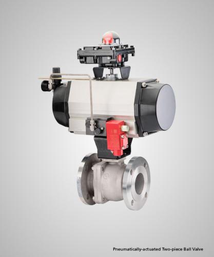 pneumatically-actuated-two-piece-ball-valve
